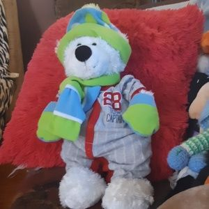 Team Captain Plush Teddy Bear kids room decor